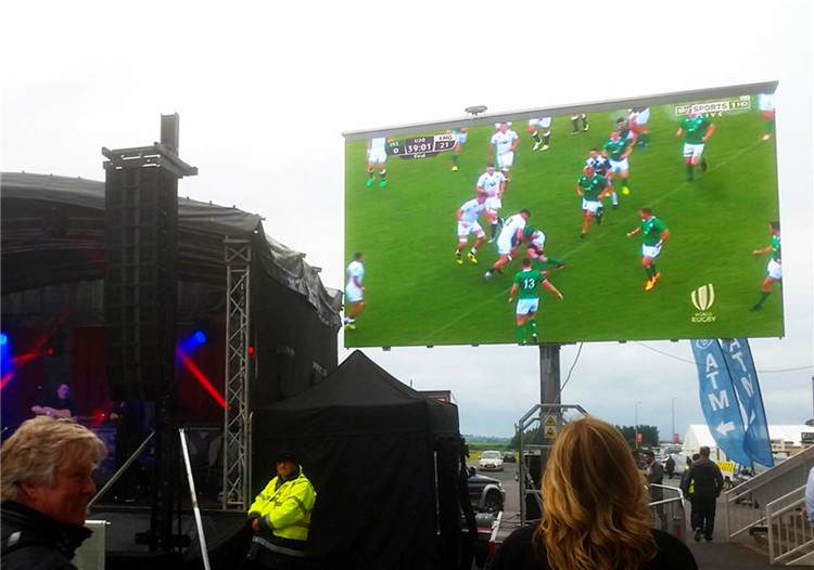P6.67 Outdoor Mobile LED Advertising in Ireland