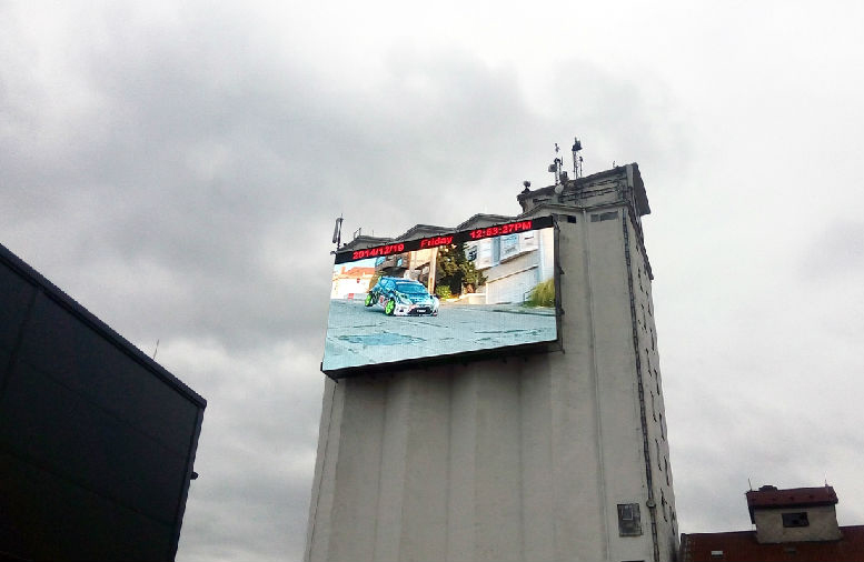P20 Outdoor Screen For High Building Advertisements.