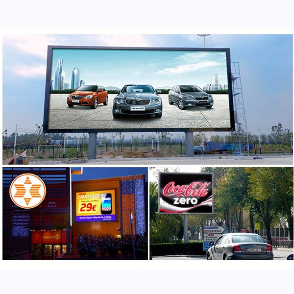 Full Color P8 Outdoor Advertising LED Display IP65 For Fixed Installation