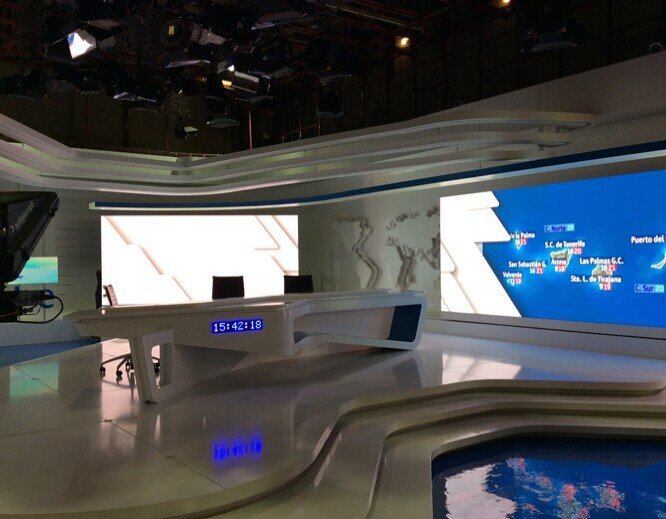 P1.5 Small Pixel Pitch Screen for RTVE Spain