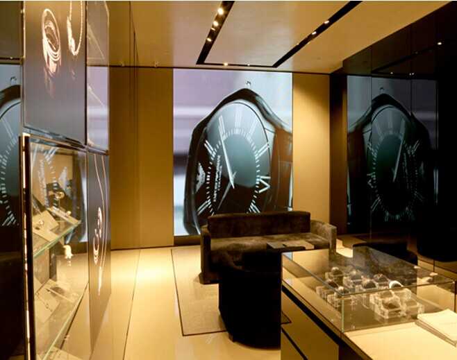 P4 Indoor Fixed LED Display for Armani